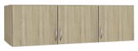 Skriňový nadstavec Case, 136 cm, dub sonoma