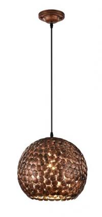 Stropná lampa Frieda 302200162, medenná