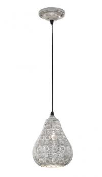 Stropná lampa Jasmin  303700161, šedá antik