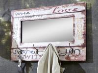 Vešiakový panel so zrkadlom Lovis 4 (89941)