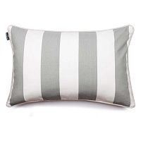 Čierno-biela obliečka na vankúš WeLoveBeds Belts, 40×60 cm