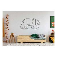 Detská posteľ z borovicového dreva Adeko Mila BOX 4, 90 x 160 cm