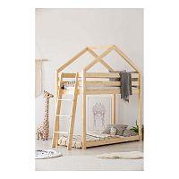 Domčeková palanda z borovicového dreva Adeko Mila DMPB, 90 x 160 cm