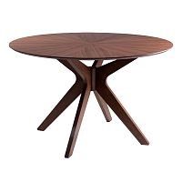 Jedálenský stôl vdekore dubového dreva sømcasa Carmel, ⌀ 120cm