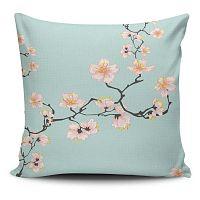 Obliečka na vankúš s prímesou bavlny Cushion Love Pinkie Branch, 45 × 45 cm