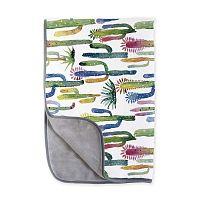 Obojstranná deka z mikrovlákna Surdic Cactus, 130 x 170 cm