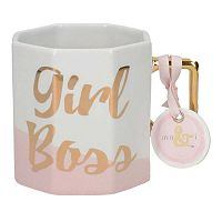 Porcelánový hrnček Creative Tops Girl Boss, 450 ml
