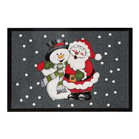 Rohožka Zala Living Santa and Snowman,×60cm