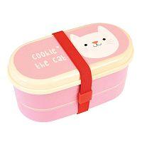 Ružový box Rex London Cookie the Cat