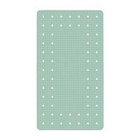 Sivobéžová protišmyková kúpeľňová podložka Wenko Mirasol, 54×54 cm