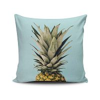 Vankúš s prímesou bavlny Cushion Love Ananas, 45 × 45 cm