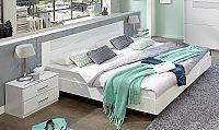 Manželská posteľ 140x200 cm a dva nočné stolíky PAMELA 143 S06