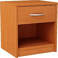 MARK 026 nočný stolík so zásuvkou, jelša