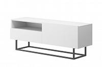 NajlacnejsiNabytok Dizajnový TV stolík ENJOY ERTVSZ120 biela