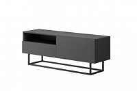 NajlacnejsiNabytok Dizajnový TV stolík ENJOY ERTVSZ120 grafit