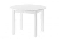NajlacnejsiNabytok Jedálenský rozkladací stôl INDUS biely