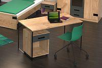 NajlacnejsiNabytok Jednoduchý PC stôl LIVERPOOL 301