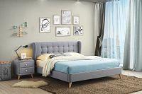 NajlacnejsiNabytok LORIEN 180 manželská čalúnená posteľ