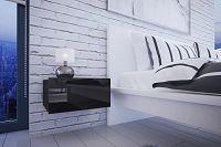 NajlacnejsiNabytok Nočný stolík MINI - čierny