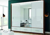 Šatníková skriňa AMSTERDAM so zrkadlom