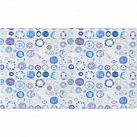Koberec, modrá/krémová, 160x230, PARLIN
