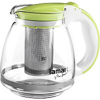 Kanvica na čaj Verre LT7028 Lamart zelená 1,5 l