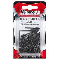 Hroty HARROWS Keypoint soft 2ba 30ks čierne