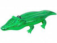 Nafukovací krokodíl INTEX 168 x 86 cm