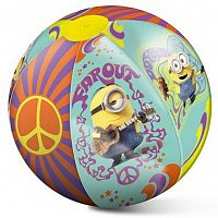 Nafukovacia plážová lopta MONDO - Mimoni 50 cm