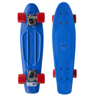 Plastic Penny Board SPARTAN - modrý