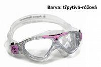 Plavecké okuliare AQUA SPHERE Vista dětské - trblietavé - ružové