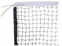 Tenisová sieť 3 mm s lankom - voskovaná