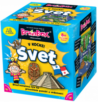 ALBI BrainBox v kocke! SVET 002211