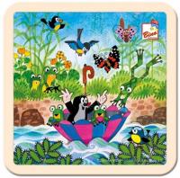 Bino Puzzle Krtko s dáždnikom 13722