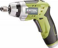 EXTOL 402114 Skrutkovač akumulátorový, 3,6 V, Li-ion