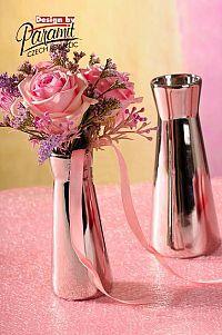 Paramit 520-13S Váza Kapucin strieborná 12,5cm