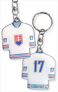 Prívesok na kľúče Višňovský dres