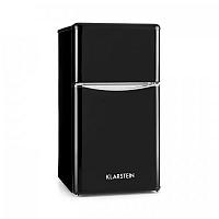 Klarstein Monroe Black kombinovaná chladnička s mrazničkou 61/24 l A+ Retrolook čierna