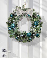 Magnet 3Pagen Veniec na stenu alebo dvere, strieborná-modrá
