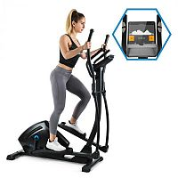 Capital Sports Helix Track, crossový trenažér, bluetooth, aplikácia, 18 kg zotrvačník
