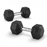 Capital Sports Hexbell 10, 10kg, dvojica krátkoručných činiek (dumbbell)