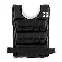 Capital Sports Monstervest, záťažová vesta, 25 kg, univerzálna veľkosť, nylon, čierna