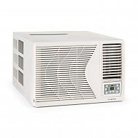 Klarstein Frostik 12, okenná klimatizácia, 12000 BTU, trieda A, R32, diaľkový ovládač, biela
