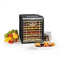Klarstein Fruit Jerky 9 sušička ovocia, časovač, 9 poličiek, 600-700W, čierna farba