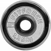 Fitforce NAKLADACI KOTÚČ 1,25KG CHROM - Nakladací kotúč