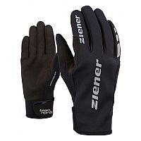 Ziener URS GWS BLACK - Bežecké rukavice