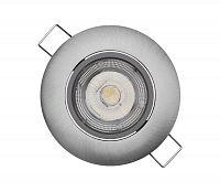 EMOS LED Podhľadové svietidlo EXCLUSIVE 1xLED/5W/230V 4000 K strieborná