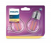 Philips SADA 2xLED Žiarovka VINTAGE E27/4W/230V 2700K