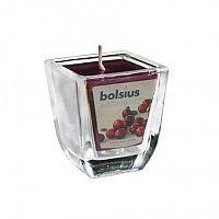 Bolsius Svietnik na čajovú sviečku, číry