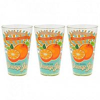CERVE Pohár long drink 3 ks, 310 ml, pomaranč